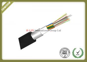 China Outdoor Stranded Loose Tube Fiber Optic Cable With Aluminum Polyethylene Laminate on sale