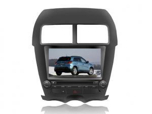 China Joueurs de la voiture DVD GPS d'écran tactile de vacarme d'OEM 2 avec DVB-T/ISDB-T pour Mitsubishi ASX on sale