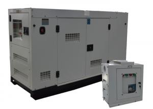 China ATS 20kva Diesel Silent Generator With Water Heater , WUXI FAWDE Engine on sale