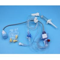 Grey Disposable Pressure Transducers 3m Length With Abbott / Philips Connecor