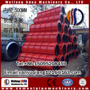 China Pipe Production Line Type and Drain Pipe Application concrete pipe machine on sale