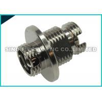 Zirconia Sleeve FC to FC Coupler Fiber Optic Cable Adapter Metal Thread Bulkhead D - Shape
