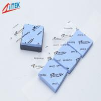 Keeping economy high efficiency soft 27shore00 3W Ceramic filled silicone thermal conductive pad  2.50 g/cc for laptop