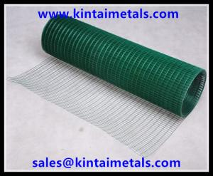 China Rede de arame soldada revestida PVC para a gaiola animal on sale