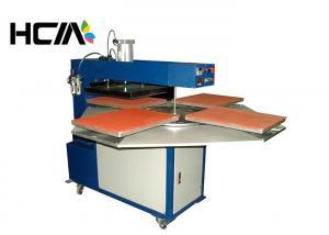 China Automatic Heat Transfer Machine 40x50 Four Working Station Heat Press Machine on sale