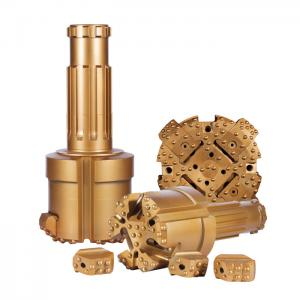 China Concentric Overburden Rock Drilling Tools , Water Well Drill Bits With Blocks on sale