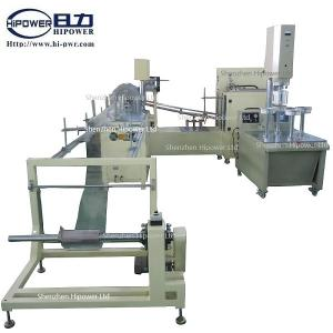 China Automatic PVC Cylinder Forming Machine, PET Cylinder Making Equipment,PVC Round Tube Box Production Line on sale