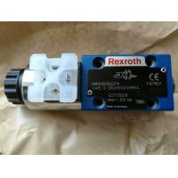 China Rexroth Directional spool valves, direct operated with solenoid actuation 4WE6D62/EG24N9K4 on sale