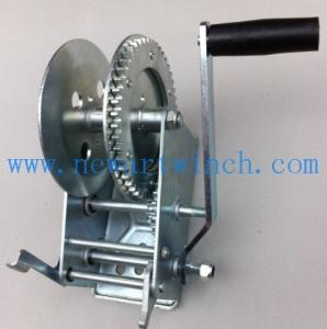 China 2500lbs Quality Wire Rope Hand Winch on sale