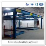 Lift and Slide Puzzle PCL Control Steel Structure for Car Parking