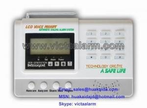 China New, LCD Voice Prompt Auto Dial Alarm System on sale