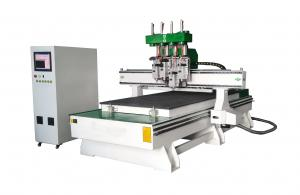 China Multi Heads CNC Wood Cutting Machine For Panel Based Furniture Processing on sale
