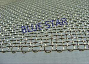 China Embossing Edge Double Locked Crimped Wire Mesh , Galvanized Steel Hardware Cloth For Construction on sale