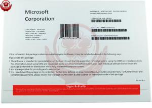 China Microsoft Windows 8.1 Operating System Professional 32/64 bit DVD medium OEM key on sale