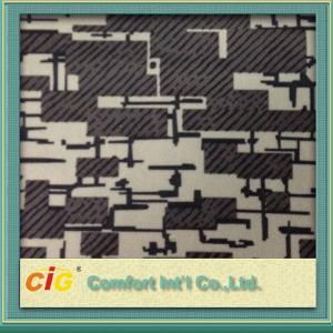 China Printing auto vinyl upholstery fabric 200gsm 300gsm , Bus Seat Fabrics on sale