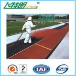 ULTRAVIOLETA al aire libre de las pistas para todo clima recubiertas de goma del suelo del gimnasio de IAAF - resistencia