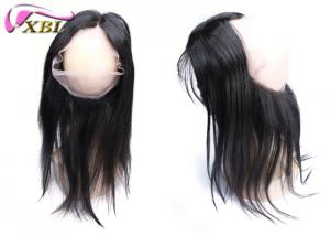 China Natural Hairline 360 Human Lace Front Wigs With No Mixed Short Hair on sale