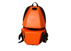 China Orange Color Portable Mini Backpack Vacuum Cleaner For Hotel / School / Supermarket on sale