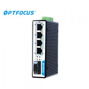 China 4 Port Industrial Ethernet Switch , 100M Hardened  Power Over Ethernet Switch on sale