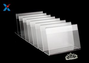 China Commercial Acrylic Display Stands Acrylic Business Card Display Holder Durable on sale