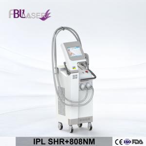 China lastest technology painless Ipl +808nm diode laser hair removal IPL SHR skin rejuvenation device on sale