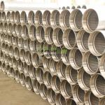 Continuous slot sand control johnson screens casing pipe for oil and water well drilling