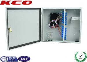 China WM ODF Fiber Optic Terminal Box for Splitter , Wall Mount Fiber Termination Box Water-proof on sale