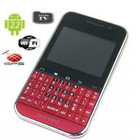 cheapest android gps wifi tv gsm mobile phone F605 with qwerty keyboard