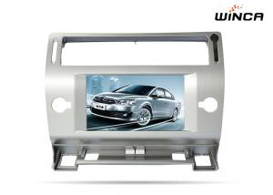 China Double Din Car Multimedia player DVD stereo for Peugeot c4 with Capacitive Screen on sale