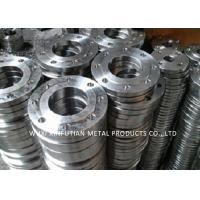 China 316L Steel Pipe Fittings / Stainless Steel Pipe Flange High Pressure Forged on sale