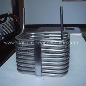 China Stainless steel Laser evaporator coil/ titanium Laser evaporator coil on sale