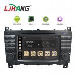 7 Inch Touch Screen Mercedes Benz DVD Player With Multimedia Player