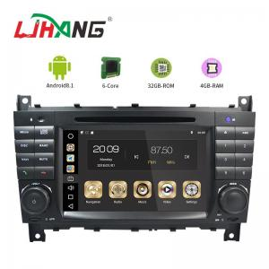 China 7 Inch Touch Screen Mercedes Benz DVD Player With Multimedia Player on sale