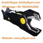Manufacturer from China excavator attachment hydraulic scrap cutter hydraulic metal shear for 20 ton excavator