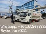 La volaille du dongfeng 120hp 4ton-5ton de l'euro 3 alimentent le camion de livraison à vendre, camion hydraulique de l'alimentation 12m3 des meilleurs prix à vendre