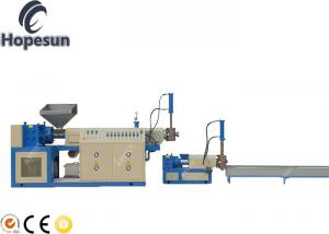 China Single Screw PP PE Plastic Granule Making Machine Lower Power Consumption on sale