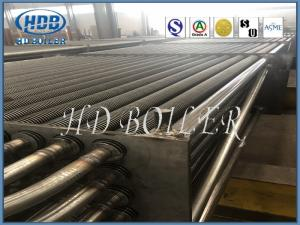China Power Station Boiler H Type Fin Tube , Carbon Steel Sprial Finned Tubes For Power Plant on sale
