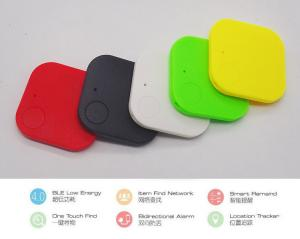 China Red Smart Finder Bluetooth Child Pet Gps Key Finder Low Energy Consumption on sale