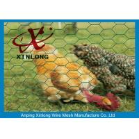 China 1/4 Inch Stainless Steel Hexagonal Wire Mesh For Garden / Children Playground on sale