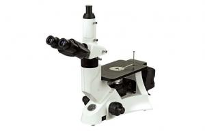 China 100X Dry Objective Digital Metallurgical Microscope With Stable Stand Structure on sale