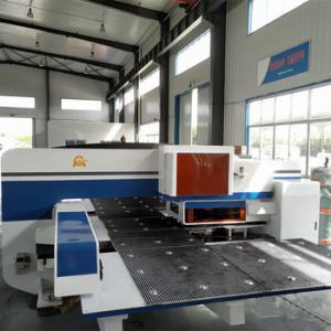 China ISO9001 CE Servo Punch Press Machine Germany Rexroth SIEMENS System , 1500x5000mm on sale