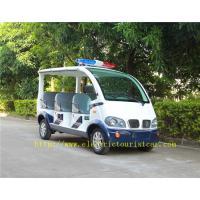 China Street Road Legal Electric Patrol Vehicles 8 Passengers Environmental Friendly on sale