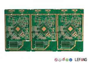 China Multilayer RoHS Communication PCB Circuit Board With Green Solder Mask on sale
