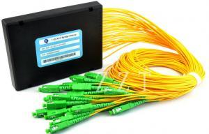 China 1x32 G652B Optic Fiber PLC Splitter Module GPON EPON , PLC Splitter Module on sale