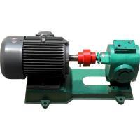 China heat jacket asphalt gear pump industrial pump high viscous fluid pump bitumen pump on sale
