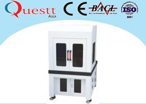 China Low Cost Industrial Laser Marking Machines , 355nm Wavelength Desktop Laser Marker on sale