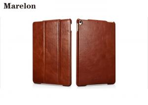 China Classical Genuine Leather Ipad Air Case / Ipad Pro Case Protect Tablet Against Dirt on sale