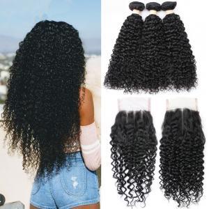 China No Shedding Peruvian Human Hair Weave / 24 Inch Human Hair Extensions on sale