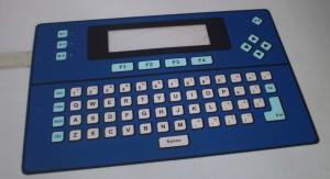 China Custom Thin Film PCB Membrane Keypad Switch Waterproof Key-embossing on sale