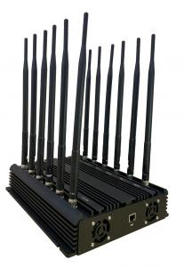 China Heat Dissipation System Cell Phone Blocker 12 Bands 2G 3G 4G 5G WIFI EST-804F12 on sale